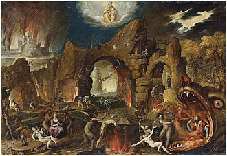 Jacob Isaacsz. van Swanenburg - The Harrowing of Hell