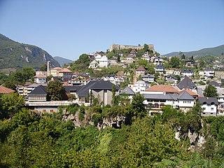 Walled city of Jajce