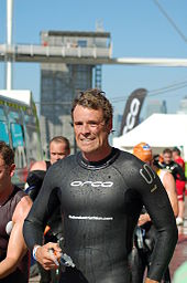 Cracknell beim Triathlon, 2007