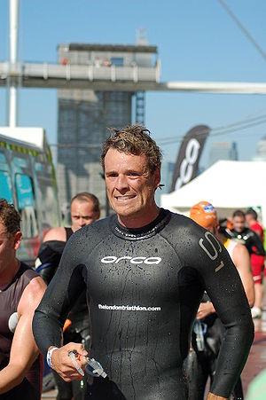 James Cracknell - James Cracknell at the London Triathlon 2007