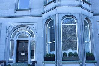 James Gowans (architect) - James Gowan's window and door detail