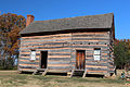 James K. Polk Childhood Log Cabin (Reconstruction).jpg