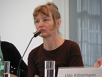 Janet Cardiff - Cardiff in Berlin, Germany in March 2009.