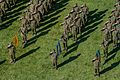 Japan Ground Self-Defense Force soldiers participate in the opening ceremony for Rising Thunder 2014 Sept 140902-A-BX700-124.jpg