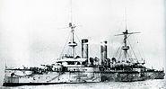Japanese cruiser Asama on completion