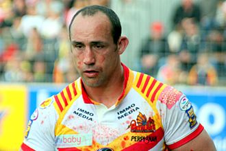 Jason Croker - Croker playing with the Catalans Dragons in 2007