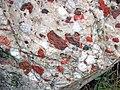 Jasper-quartz pebble conglomerate (Lorrain Formation, Paleoproterozoic, ~2.3 Ga; Ottertail Lake Northeast roadcut, near Bruce Mines, Ontario, Canada) 54 (46793394945).jpg