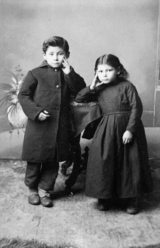 Louis Riel - Jean-Louis and Marie-Angélique Riel, children of Louis Riel