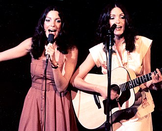 The Comedy Store - Jennie and Terrie Frankel perform at The Comedy Store in the late 1970s