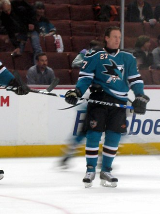 Jeremy Roenick - Roenick prior to a game.