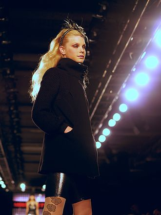 Jessica Stam - Jessica Stam modeling for Miss Sixty, Fall 2007 at New York Fashion Week