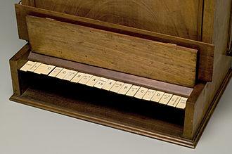 William Stanley Jevons - The Logic Piano keyboard