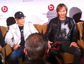Beats Electronics - Image: Jimmy Iovine & David Guetta