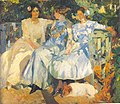 Joaquin Sorolla My Wife and Daughters in the Garden.jpg