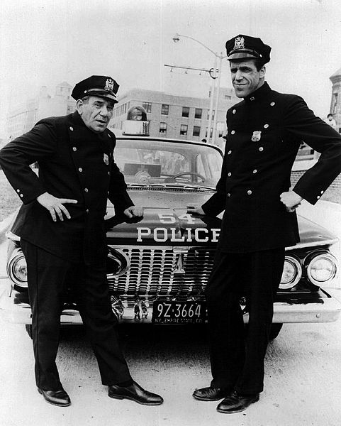 File:Joe E. Ross Fred Gwynne Car 54 1965.JPG