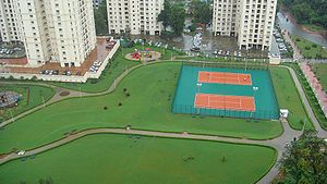 Hiranandani Estate - Image: Joggingtrack
