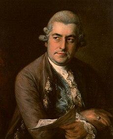 Jean-Chrétien Bach, fils de Jean Sébastien et compositeur pré-classique