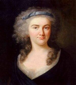 Charlotte von Kalb - Charlotte von Kalb by Johann Friedrich August Tischbein