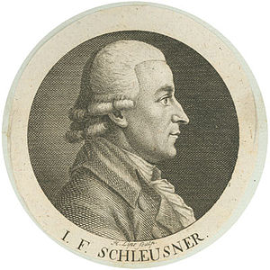 Johann Friedrich Schleusner
