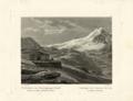Johann Jakob Meyer - Albergo alla confluenza tra il Passo dello Stelvio e il Passo di Bormio - 1831.png