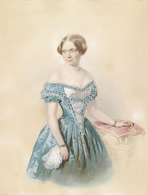 Marie von Ebner-Eschenbach - Marie von Ebner Eschenbach, 1851
