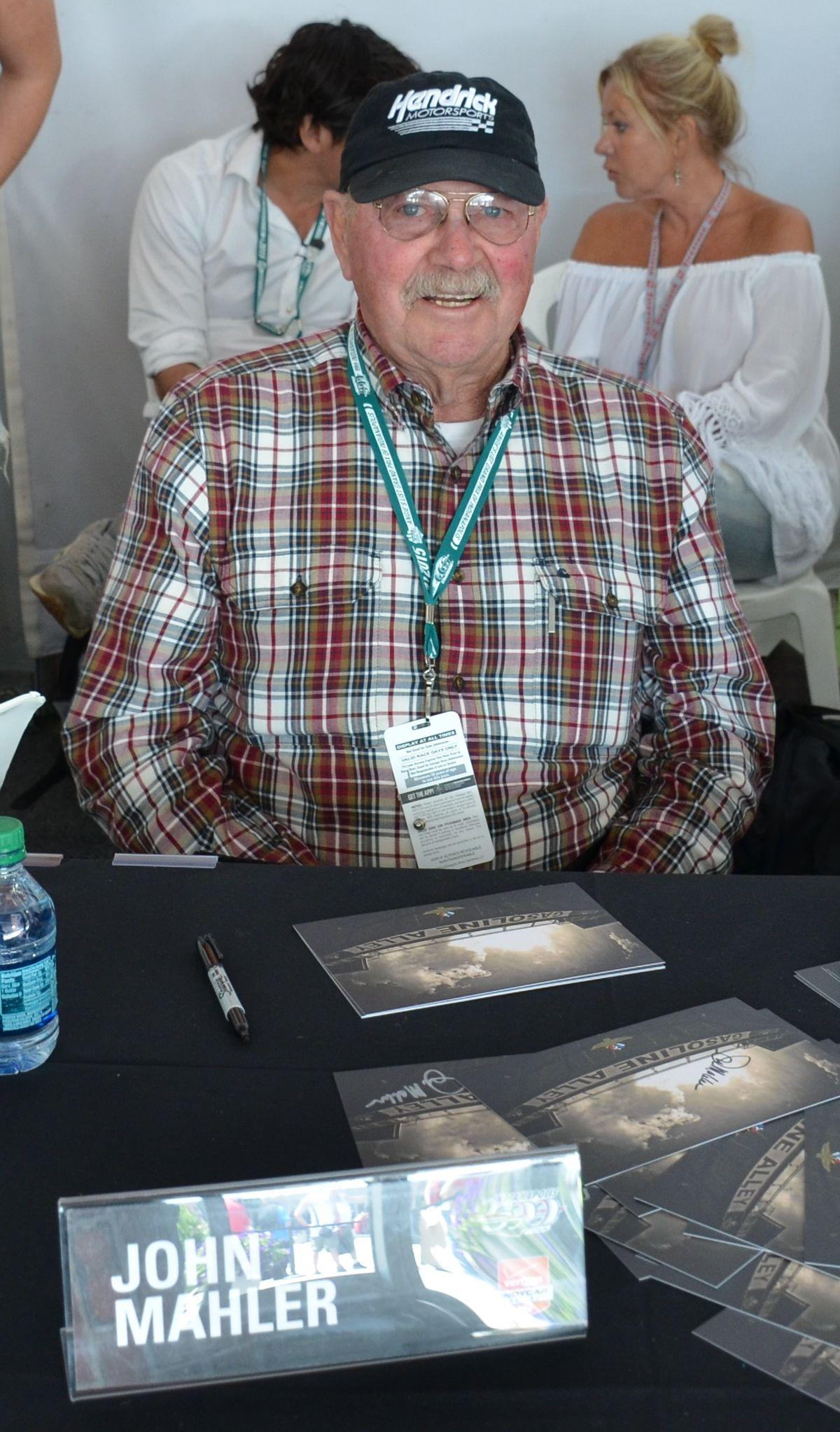 John Mahler Race Car Driver