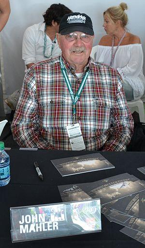 John Mahler - John Mahler at the 2015 Indianapolis 500
