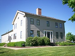 John Johnson Home, a historic house in Hiram Township