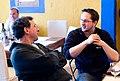 John Markoff and Matt Biddulph.jpg