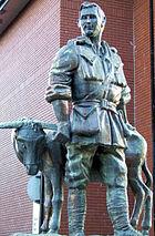 John Simpson Kirkpatrick Statue in Ocean Road, South Shields
