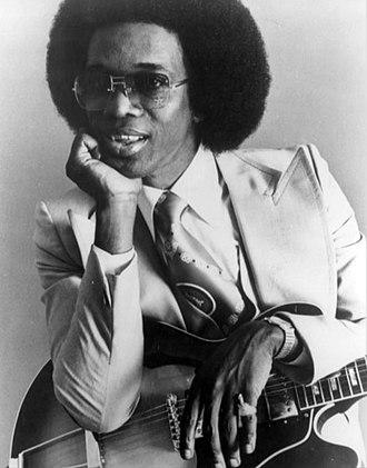 """Johnny """"Guitar"""" Watson - Watson in 1977"""