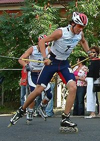 Johnny Spillane beim Sommer Grand Prix 2004 in Steinbach-Hallenberg