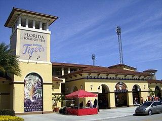 Joker Marchant Stadium Baseball field located in Lakeland, FL