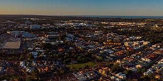 Joondalup City in Western Australia