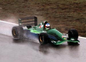 Jordan 191 - Michael Schumacher testing the Jordan 191