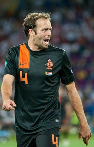 Joris Mathijsen - Mathijsen playing for the Netherlands at Euro 2012.