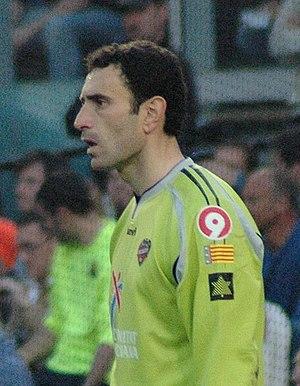 José Francisco Molina - Molina in action for Levante