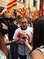 Josep Maria Álvarez UGT en mani retallades 21 de juny 2011.JPG