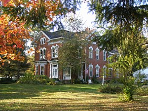 Washington Township, Holmes County, Ohio - The Joseph L. DeYarmon House, a historic site in the township