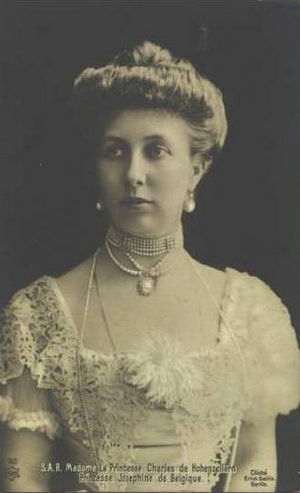 Princess Joséphine Caroline of Belgium - Image: Josephine Belg Hohenz