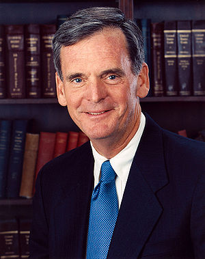 Judd Gregg, U.S. Senator from New Hampshire.