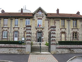 The town hall of Juilly