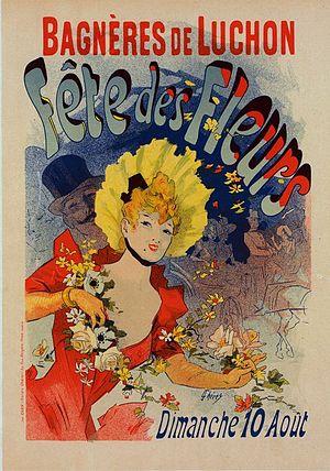 Les Maîtres de l'Affiche - Image: Jules Chéret Fete des Fleurs
