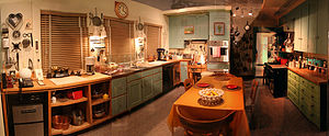 Julia Child's Kitchen on display at the Nation...