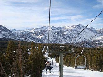 June Mountain ski area - Image: June Mountain skiing
