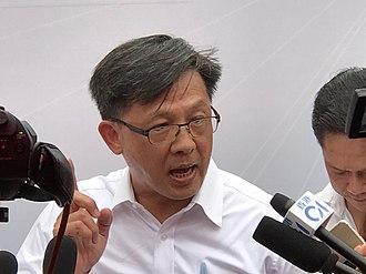 Junius Ho - Ho in 2018.