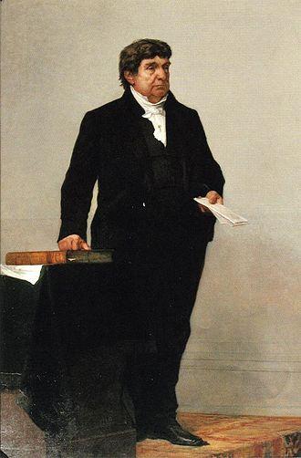 Lemuel Shaw - Portrait by William Morris Hunt