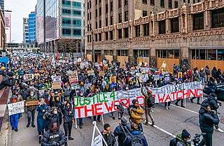 Protests in Minneapolis regarding the trial of Derek Chauvin Local civil unrest in Minneapolis–Saint Paul
