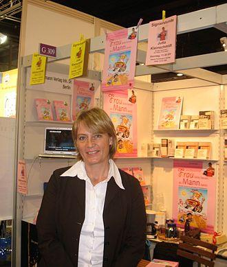 Jutta Kleinschmidt - Image: Jutta Kleinschmidt Buchmesse