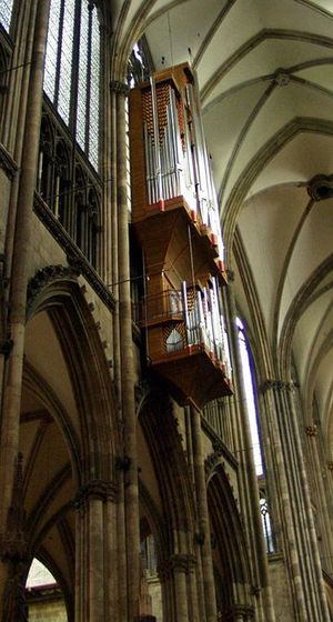 Klais Orgelbau - Image: Kölner Dom Orgel